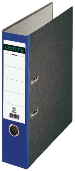 Standard Ordner A4, 80 mm, blau