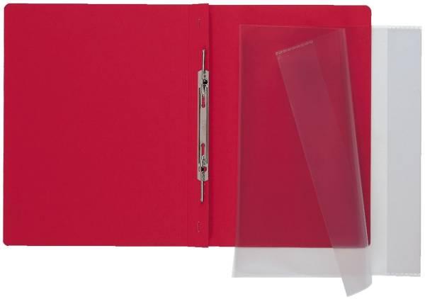 HERMA Heftschoner A4 transp. farblos 7459 für Schnellhefter