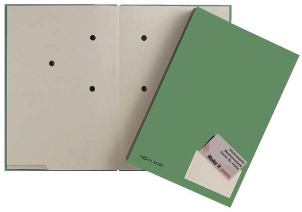 PAGNA Unterschriftsmappe 20 tlg grün 24205-03 Color Pappe