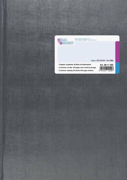 KÖNIG & EBHARDT Spaltenbuch A4 96Bl 6SP 86-11062
