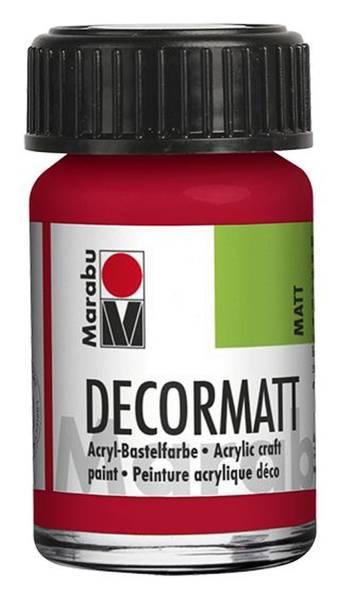 Decormatt Acryl, Kirschrot 031, 15 ml