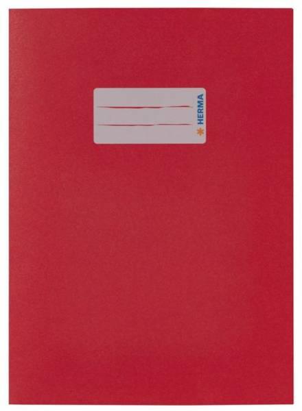 Heftschoner A5 Papier dunkelrot