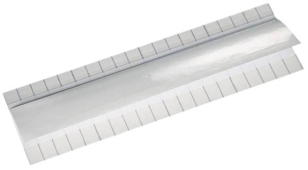 6001 Beschriftungsschild Unitab, selbstklebend, 10 Streifen, weiß