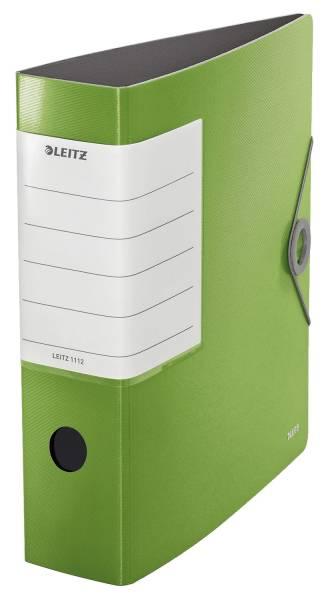 LEITZ Ordner Solid A4 8cm hellgrün 1112-00-50