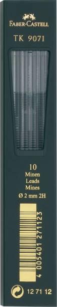 Fallmine TK für Fallminenstift 2 mm, Härtegrad 2H, tiefschwarz®
