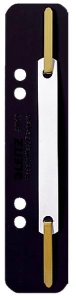 3710 Einhänge Heftstreifen PP, kurz schwarz, 25 Stück