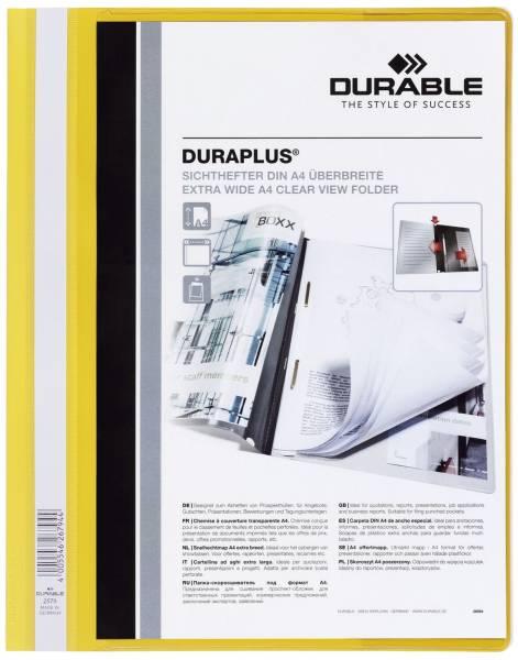 Angebotshefter DURAPLUS, strapazierfähige Folie, A4+, gelb®