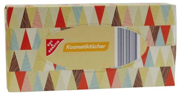 GUT & GÜNSTIG Kosmetiktücher 3-lagig 90ST 3061961000