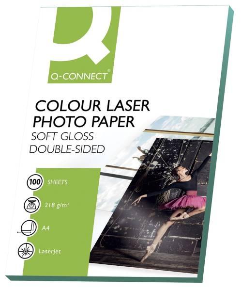 Colour Laser Fotopapier A4, 210 g qm, weiß, 100 Blatt
