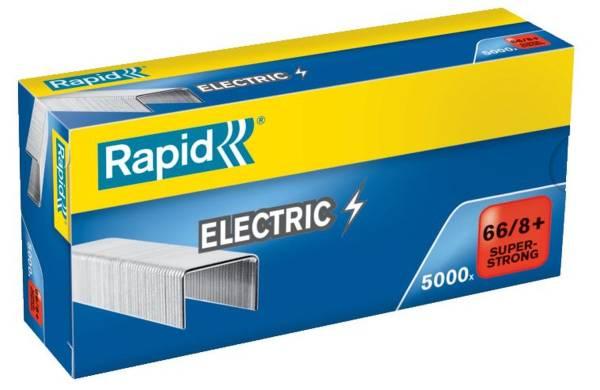 RAPID Heftklammer 66/8+ verzinkt 24868000 5000St Super Strong