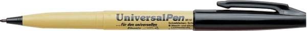 PENTEL Universalmarker 1mm schwarz M10-UA Textilmarker
