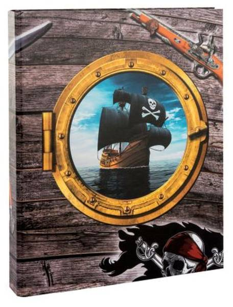GOLDBUCH Schulordner A4/25mm 3D Piraten! 37 177