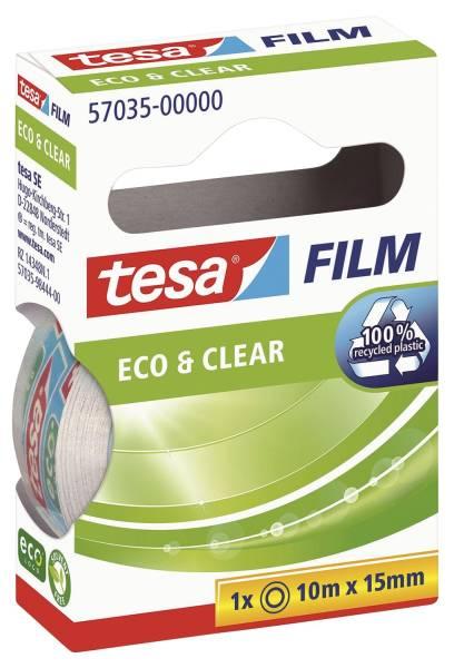 Eco & Clear unsichtbar, Bandgröße (L x B): 10 m x 15 mm