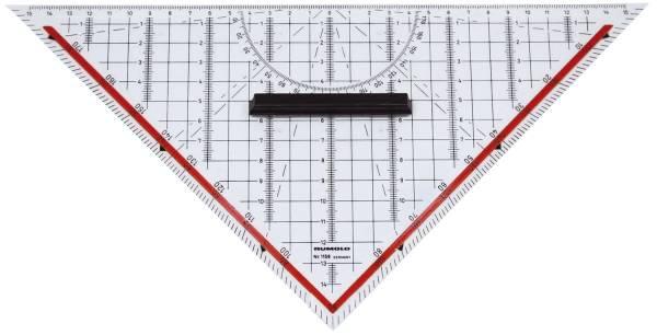 Technisches Zeichendreieck mit Griff, 325 mm