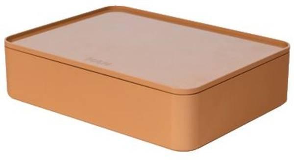 HAN Utensilienbox +Deckel caramel-braun 1110-83 Allison