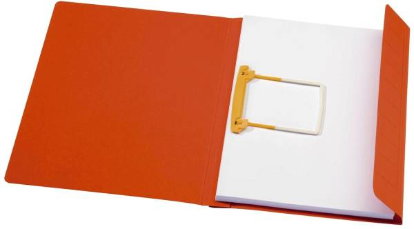 Schnellhefter Clip Mappe Secolor A4, rot