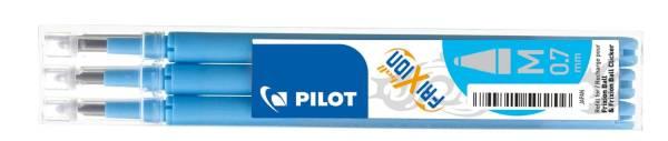 PILOT Tintenrollermine Frixion 0,4mm 3ST h´bla BLS-FR7-LB-3 2261010F