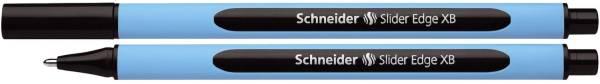 Kugelschreiber Slider Edge Kappenmodell, XB, schwarz