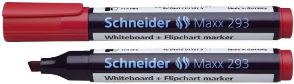 SCHNEIDER Boardmarker 293 rot SN129302 Keilspitze