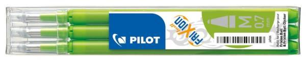 PILOT Tintenrollermine Frixion 0,4mm 3ST h`grü BLS-FR7-LG 2261011F