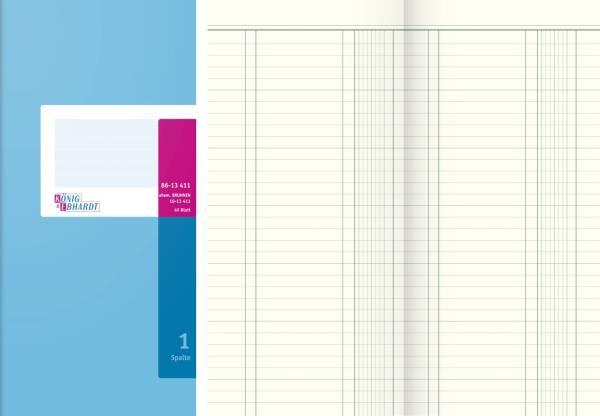 KÖNIG & EBHARDT Spaltenbuch 13.7x29.7cm 86-13411
