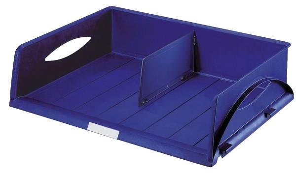 5232 Briefkorb Sorty Jumbo, A3 quer, Polystyrol, blau