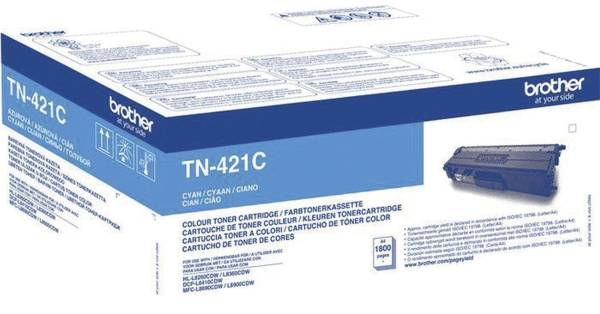 BROTHER Lasertoner cyan TN421C