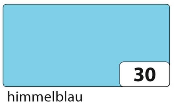 Tonpapier 50 x 70 cm, himmelblau