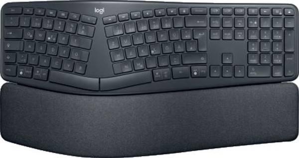 LOGITECH Tastatur K860 Wireless schwarz 920-009167