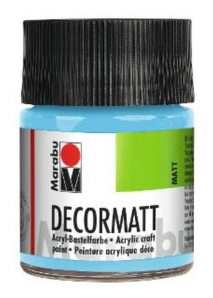 Decormatt Acryl, Hellblau 090, 50 ml