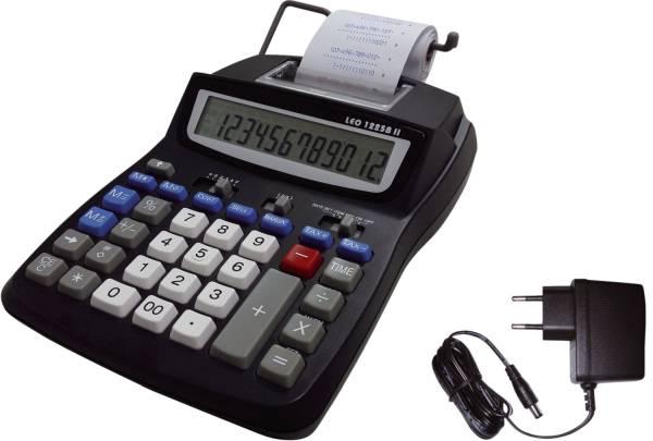 Tischrechner 1225B II druckend, schwarz