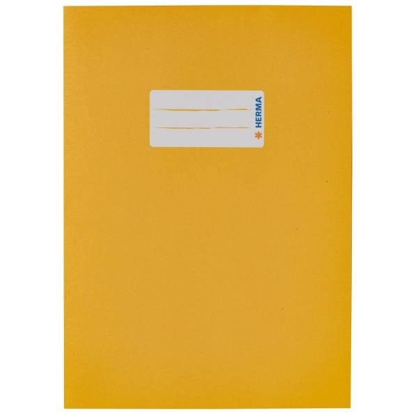 Heftschoner A5 Papier gelb