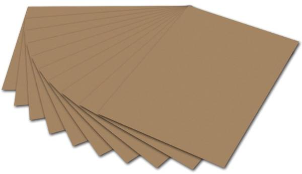 Tonpapier A4, rehbraun