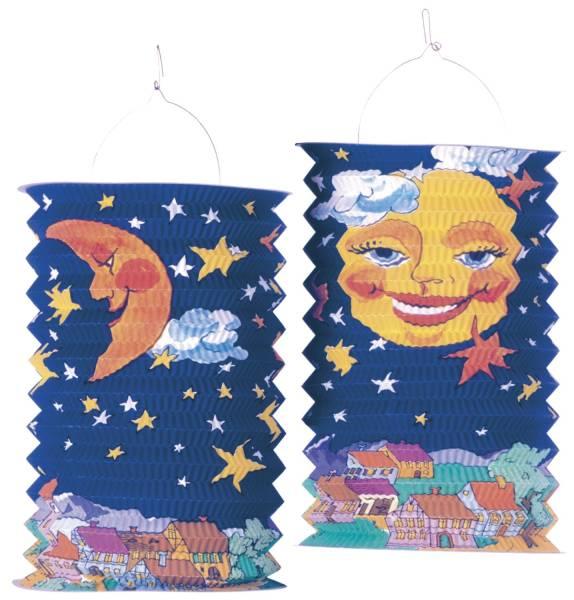 Laterne Sonne & Mond 28 cm