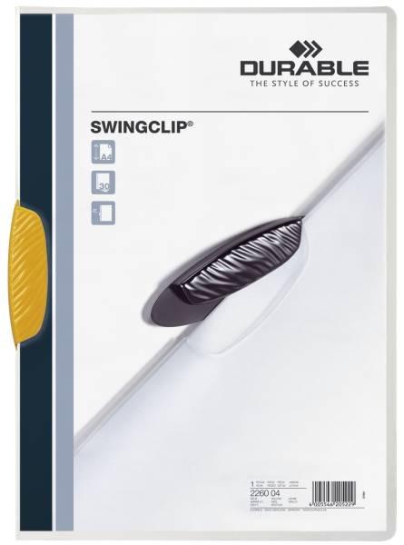 Klemm Mappe SWINGCLIP, DIN A4, gelb®