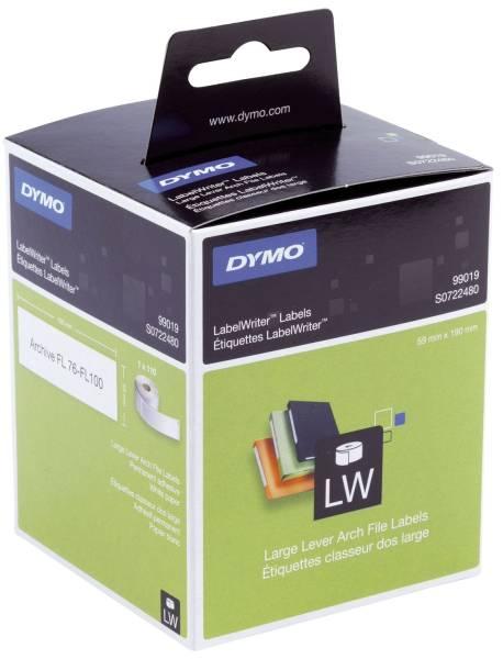 LabelWriter™ Etikettenrollen Ordneretikett breit, 59 x 190 mm, weiß
