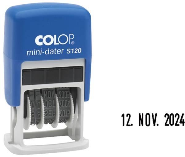 COLOP Datumstempel Mini-Dater S120 selbstfärbend