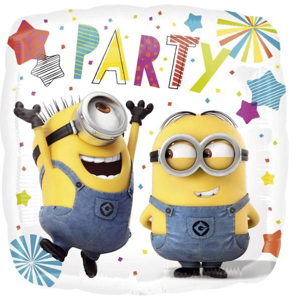 Folienballon Minions Party 615901 43x43cm