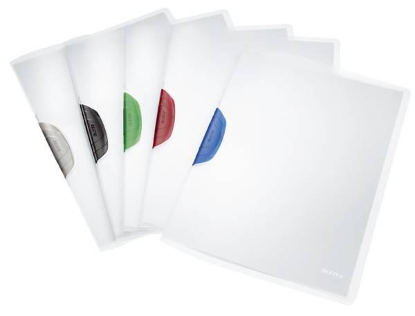 4175 Klemmmappe ColorClip, A4, PP, 6 Stück, sortiert