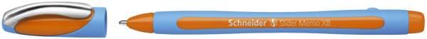 SCHNEIDER Kugelschreiber Slider Memo XB orange 150206 0.7mm