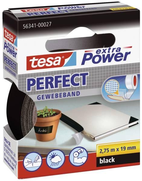 TESA Gewebeband 19mmx2,75m schwarz 56341-00027-03