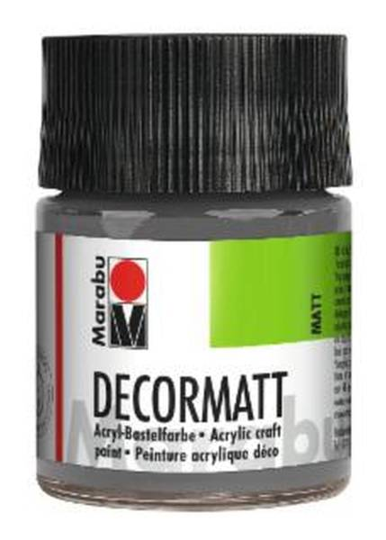 Decormatt Acryl, Hellgrau 278, 50 ml