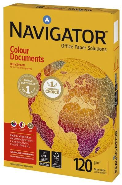 Colour Documents A4, 120 g qm, weiß, 250 Blatt