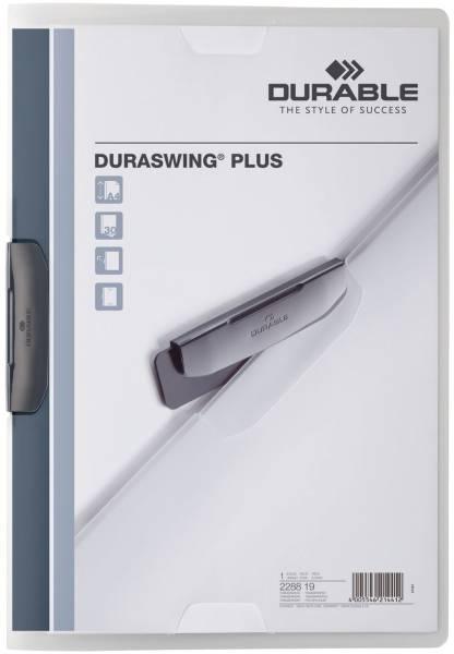 Klemm Mappe DURASWING PLUS, DIN A4, transparent®