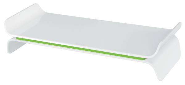 LEITZ Bildschirmträger Ergo WOW weiß/grün 6504-00-54 höhenverstellbar