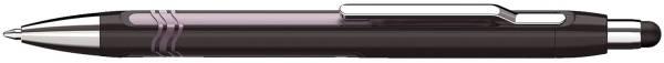 SCHNEIDER Kugelschreiber Epsilon schwarz/pink 138704 Touch