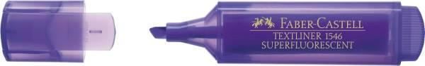 FABER CASTELL Textmarker Superfluoresc.viol. 154636 Textliner