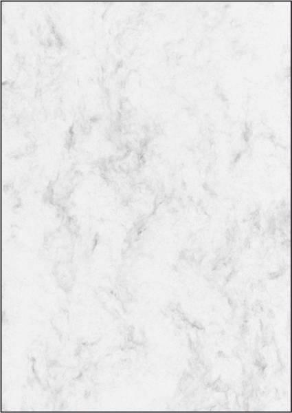 Marmor Papier, grau, A4, 90 g qm, 25 Blatt