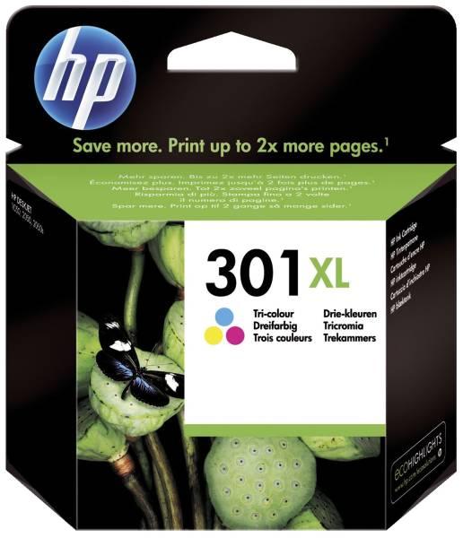 Original Druckkopfpatrone color High Capacity (CH564EE,CH564EE#ABE,CH564EE#BA3,CH564EE#UUS,301XL,301