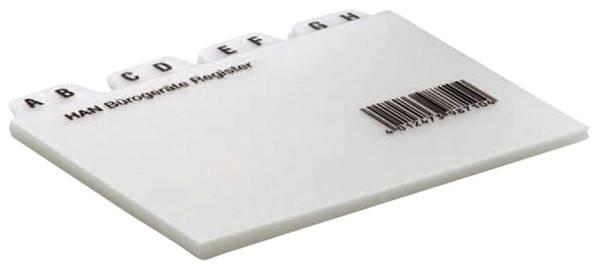 HAN Leitregister A7 quer A-Z grau 987 25tlg